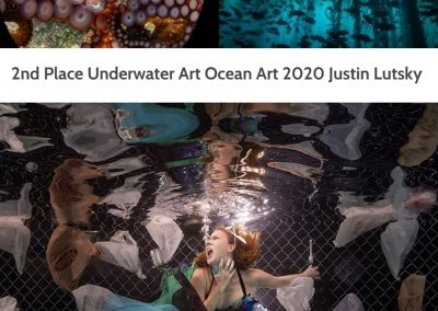 Ocean Art 2020: 2nd Place Underwater Art